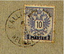 Postmarks of Gallipolli